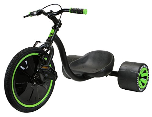 Madd Gear Mini Drift Trike, Black/Green
