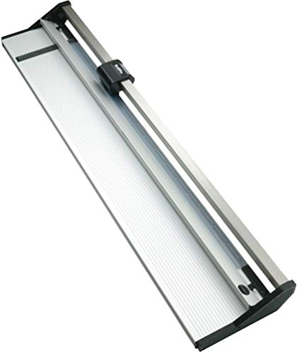 Rotatrim 60330 Technical Series 61'' (1550 mm) Rotary Trimmer, 1/2'' Stainless Steel Guide Rail Completely Eliminates Head Swivel, All-metal Construction, Maximum Cut Depth of Up to 4mm by Keencut (Image #1)