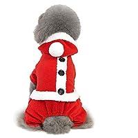 AMOFY Christmas Pet Hoodie Sweater