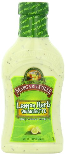 Margaritaville Lemon Herb Vinaigrette, 14 Ounce (Pack of 6)