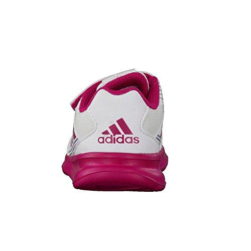 adidas AltaRun CF I - Zapatillas de deportepara niños, Blanco - (FTWBLA/ROSFUE/GRIMED), 20