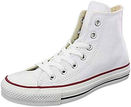 Converse Baskets Montantes All Star CT Hi Cuir Bla Femme e84conv001