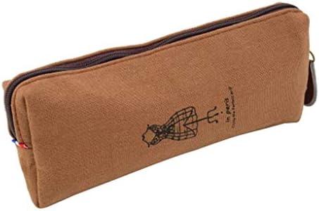 Forma de Jeans Estuche de Lapices Multifuncional Cosmético Maquillaje Bolsa Estuche de Pluma Cremallera Bolsa de Almacenamiento Organizador de Escritorio por SamGreatWorld: Amazon.es: Oficina y papelería