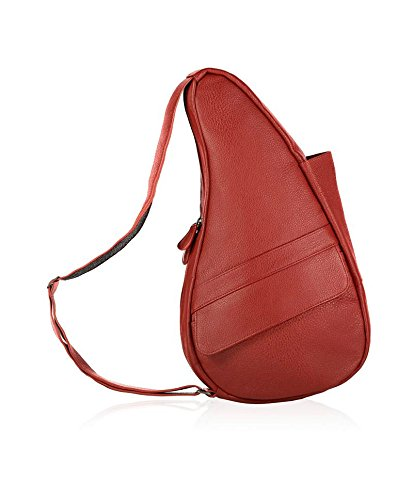 AmeriBag Classic Leather Healthy Back Bag tote Extra-small,Bing,one size