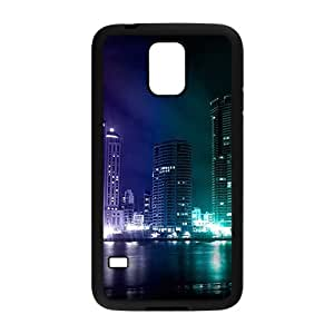 Tony Diy Beautiful night scenery cell phone case cover for Samsung Galaxy S5 3QpNAI74ppE