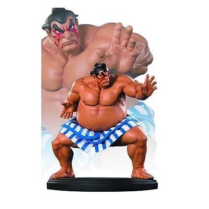 Amazon.com: STREET FIGHTER 1/4 SCALE E HONDA STATUE: Toys & Games