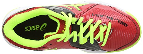 Black Gel Yellow Multisport Asics Gs Indoor 6 Shoes Unisex Chinese Blast Kids' Red Flash xdwwROFqan