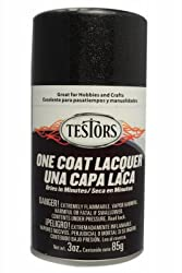 Testor 1832MT 3OZ BLK Gloss or Glass Lacquer from TESTOR CORPORATION