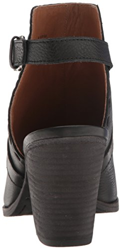 Sandal Heeled Dani Black Pickstitch Frye Women's Shield vqRCxn1w