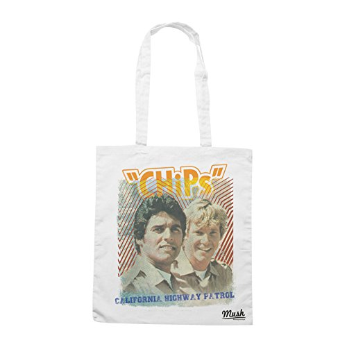 Borsa CHIPS VINTAGE SERIE - Bianca - FILM by Mush Dress Your Style