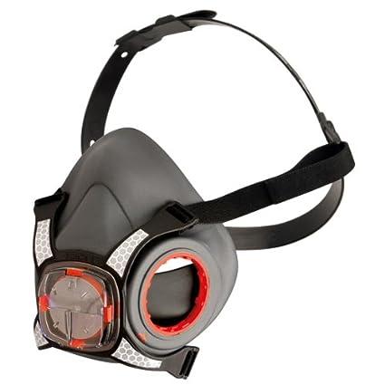 JSP A1P2 Force 8 - Mascara de gas con dos filtros gemelos A1 para vapores orgánicos