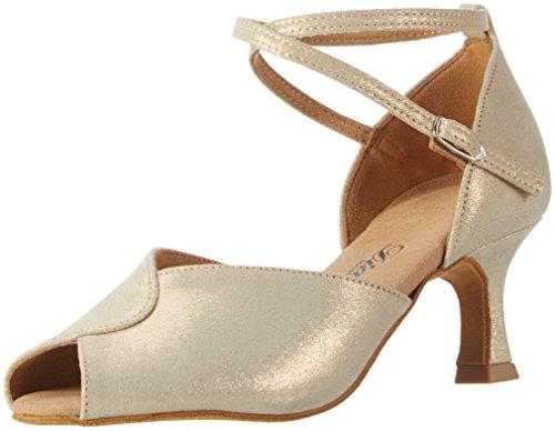 Women's Gold 077 Dance Tanzschuhe Reflex Shoes Damen 330 Ballroom 119 Gold Gold Diamant dPqRTd