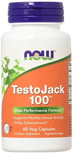 Now Foods TestoJack 100 Capsules