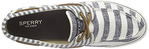 Sperry Top-sider Donna Bahama Mt Stripe Gry Fashion Sneaker Brick