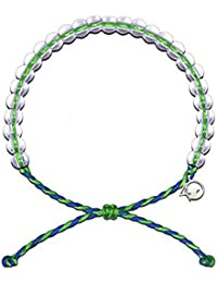 Bracelet with Charm Made from 100% Recycled Material Upcycled Jewelry