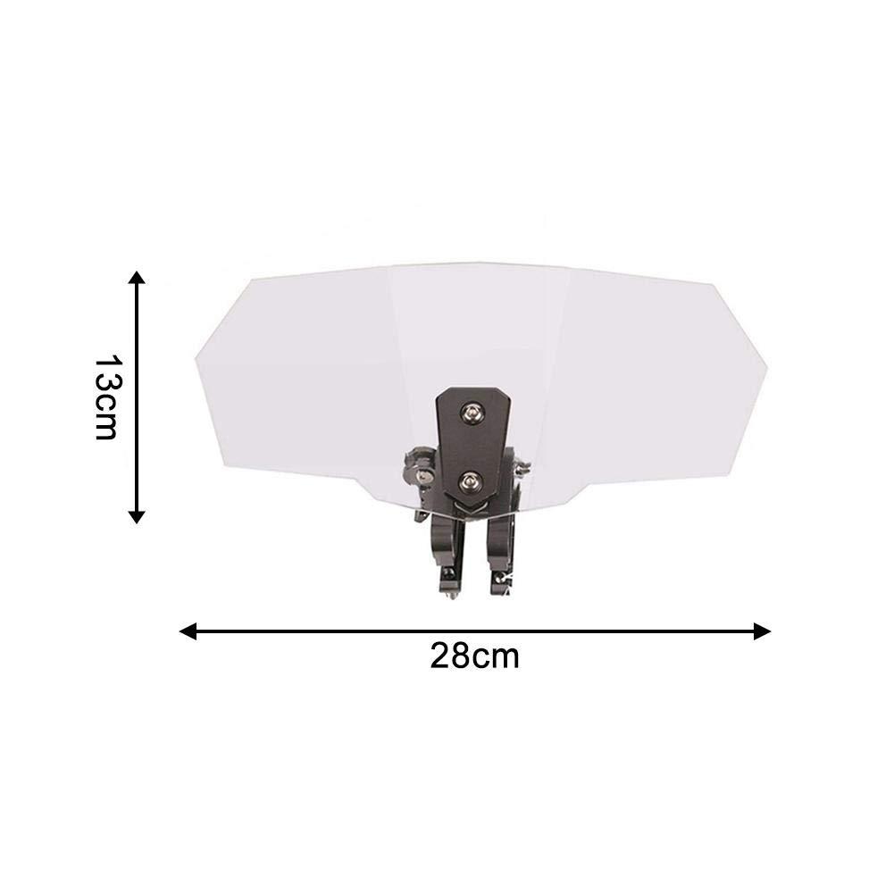 Pare-brise Ajustable De Moto Universelle Silencieux Facile /À Installer