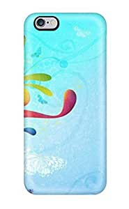 New PC Hard Case Premium Iphone 6 Plus Skin Case Cover(abstract Colors)