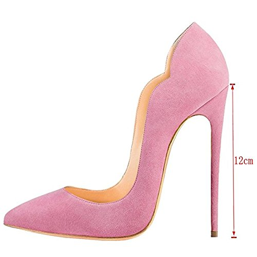 Heel high Tacco Alto Soireelady Scarpe Con Tacco scarpe Rosa Donna Scarpe wqwXIZF