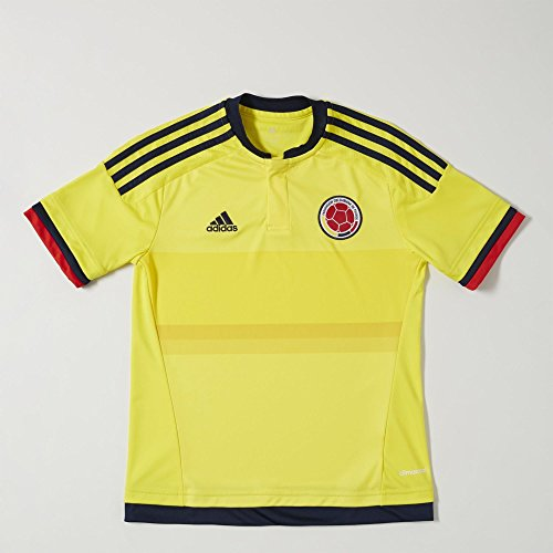 Adidas Colombia Home Youth Jersey-BYELLO