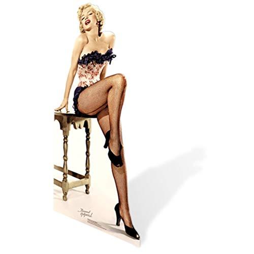 SC282 Marilyn Monroe Net Stockings Cardboard Cutout Standup