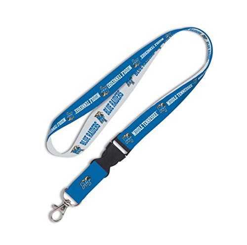 Wincraft NCAA Middle Tennessee State University Lanyard with Detachable Buckle, ()