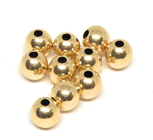 14kt Gold Filled Round Beads 5mm (20) ()