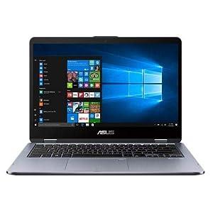 Asus Tp410Uf-Ec034T 14 inç Dizüstü Bilgisayar Intel Core i5 4 GB 256 GB NVIDIA GeForce Windows 10, Gri