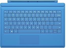 Microsoft Surface Pro Type Cover - teclados para móviles (Cian, Mini, Microsoft, Surface Pro 3, AZERTY, Francés)