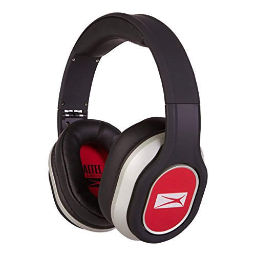 Altec Lansing Mzx656 Red Foldable Headphones  Red