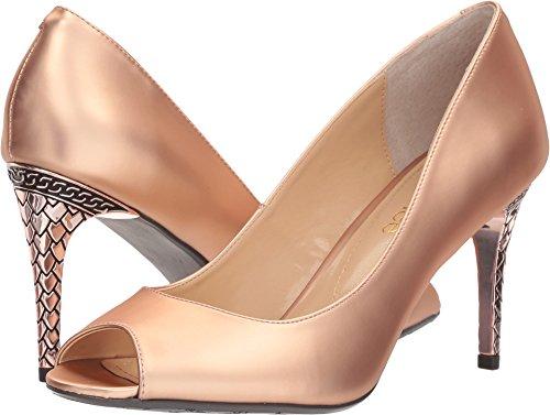 J. Renee Women's Lucera Pump, Rose Gold, 8.5 M (J Renee Peep Toe Heels)