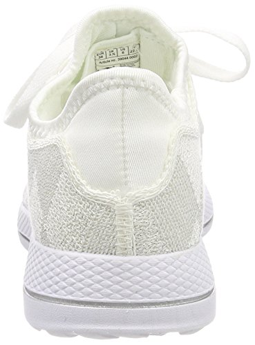 W 518 Enfant Weiß White Silver Baskets KangaROOS Mixte q8Tdq4