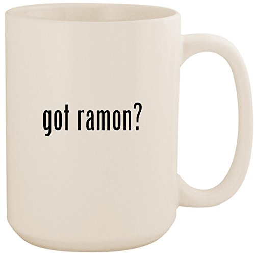 got ramon? - White 15oz Ceramic Coffee Mug Cup
