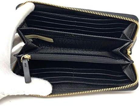 Kate Spade New York Neda Penn Place Logo Leather Zip Around Continental Wallet Black