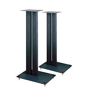 Lovan Affiniti 2434; Speaker Stands, Matte Black (1 pair)