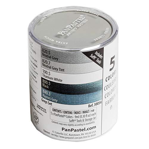 Panpastel pack 5 colores Multicolor c/paletas Sofft