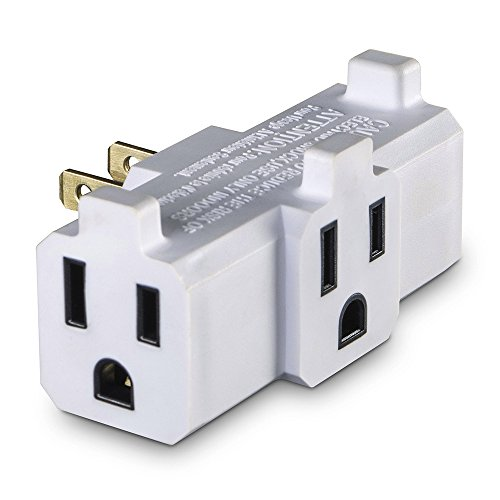 2 Prong Outlet (CyberPower GT300RC2 3 Sided Wall Tap)