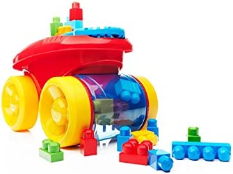 Mega Bloks First Builders Block Scooping Wagon Building Set