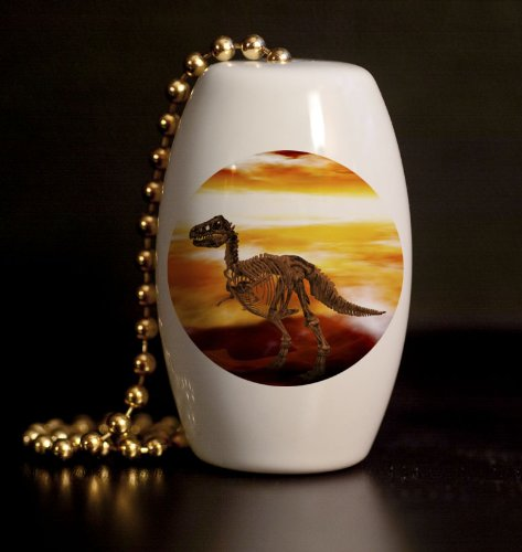Fossil Fuel Porcelain Fan / Light