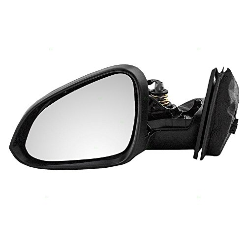 Buick Regal Mirror Power Drivers - Drivers Power Side View Mirror Heated Smooth Replacement for Buick 22855373 AutoAndArt