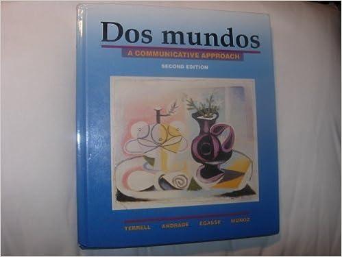 Lataa ilmaisia kirjoja verkossa kobolle Dos Mundos: A Communicative Approach Suomeksi FB2 0075408104