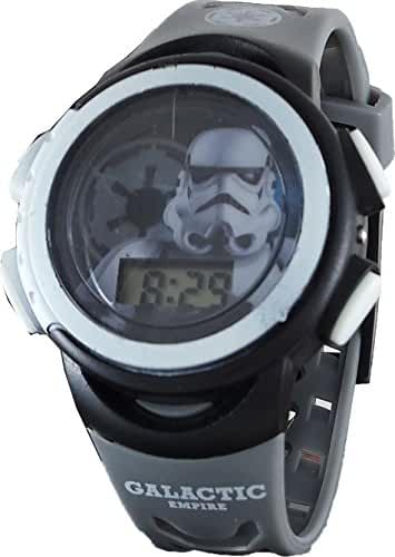 Star Wars Kid's SWM3098 Stormtrooper Digital Light Up Watch