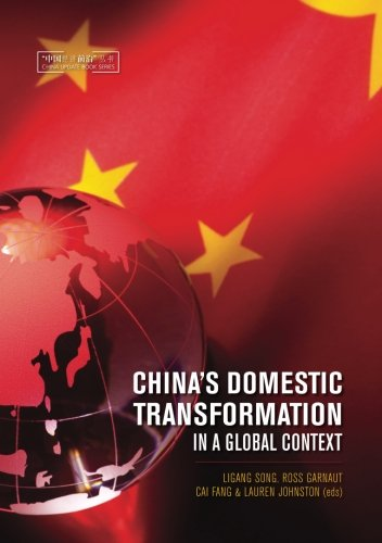 China's Domestic Transformation in a Global Context (China Update Series)