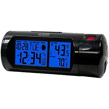 Amazon.com: La Crosse Wi-Fi Projection Alarm Clock ...