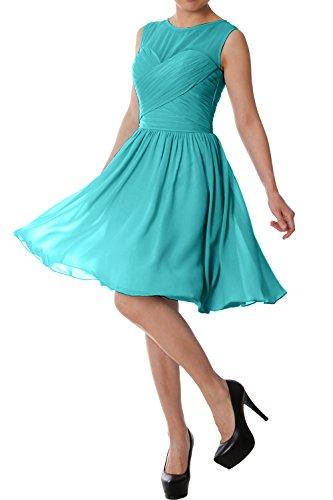 MACloth -  Vestito  - linea ad a - Senza maniche  - Donna blu 40