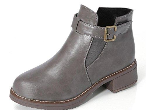 Martin Fashion Boots Slip Boots 39 Non Women XDGG New grey AqxxSv