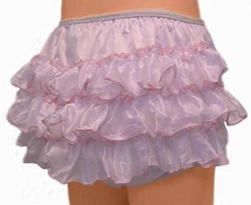 Should a boy wear rhumba plastic pants?