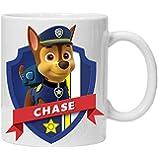 paw patrol chase mug