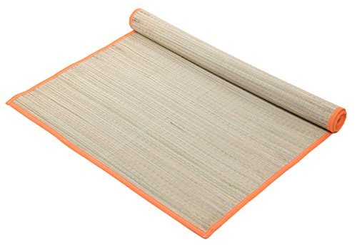 Tropical Woven Straw Beach Mat -