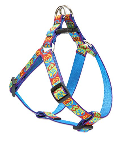 """LupinePet 3/4"""" Peace Pup 20-30 Step In Dog Harness"""