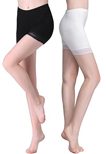 Vinconie Women Under Skirt Shorts Gym Pants Sports Cropped Leggings Lightweight